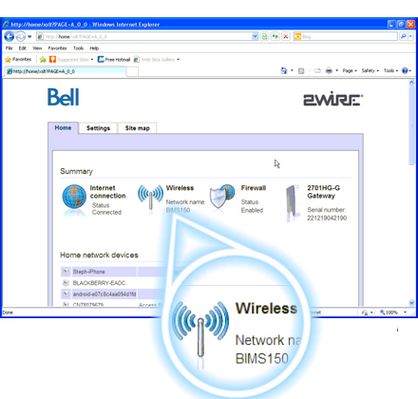 How To Change The Name Of My Wireless Network On My 2wire 2701 Modem
