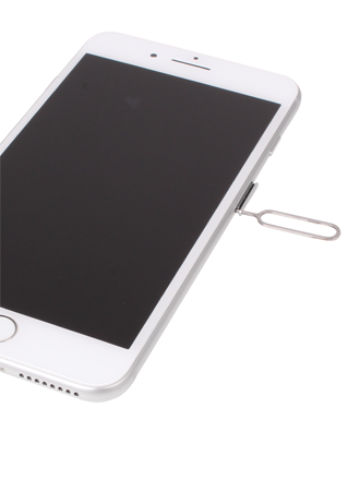 How to insert a SIM card into my Apple iPhone 8