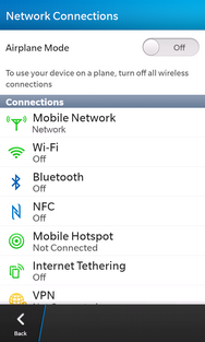Touch Mobile Hotspot.