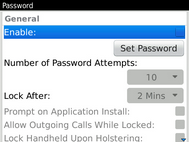 Select Enable.