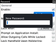 Enter a password.