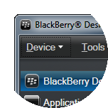 To restore your BlackBerry smartphone, click Device.