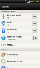 Touch Mobile network.