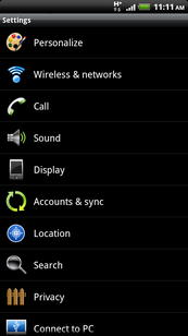 Touch Wireless & networks.