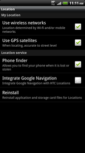 Touch Use GPS satellites to turn it off.