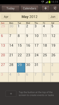 The calendar event is deleted.