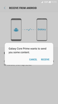 How to transfer content from my old phone to my Samsung