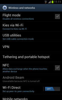 Touch Tethering and portable hotspot.