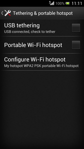 Touch Portable Wi-Fi hotspot.