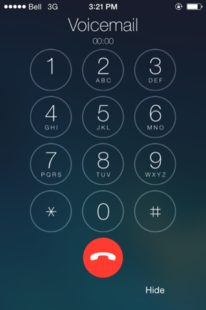 how to delete your voicemail on iphone