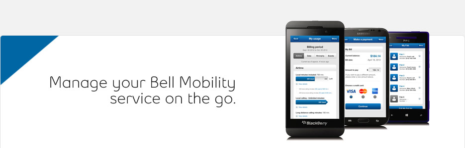 telus mobility text message: