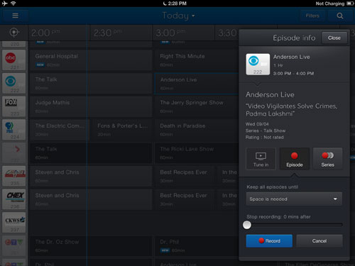 how to use delete show on bell pvr