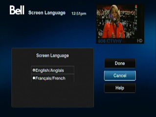 Screen Language
